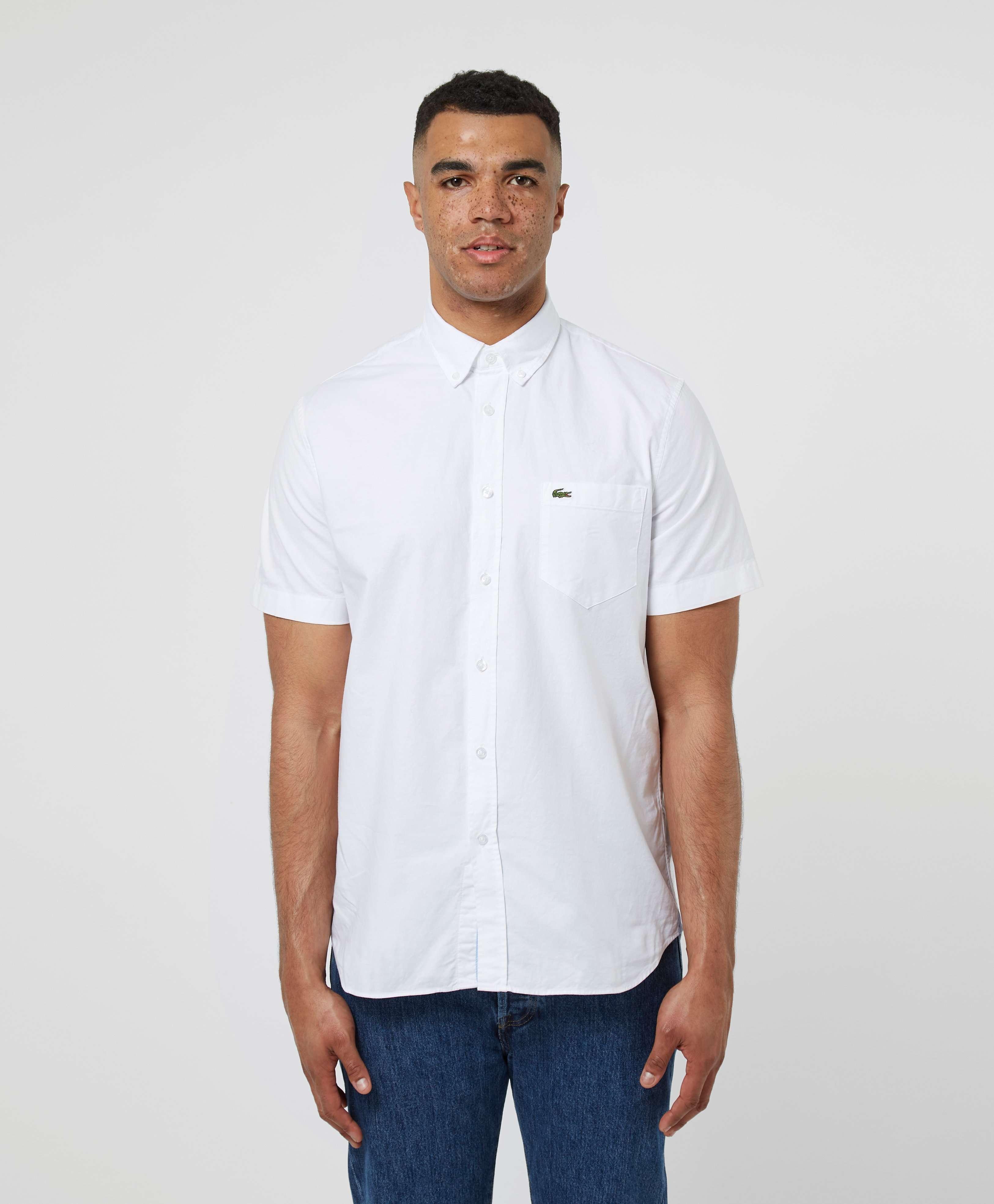 Lacoste Short Sleeve Oxford Shirt