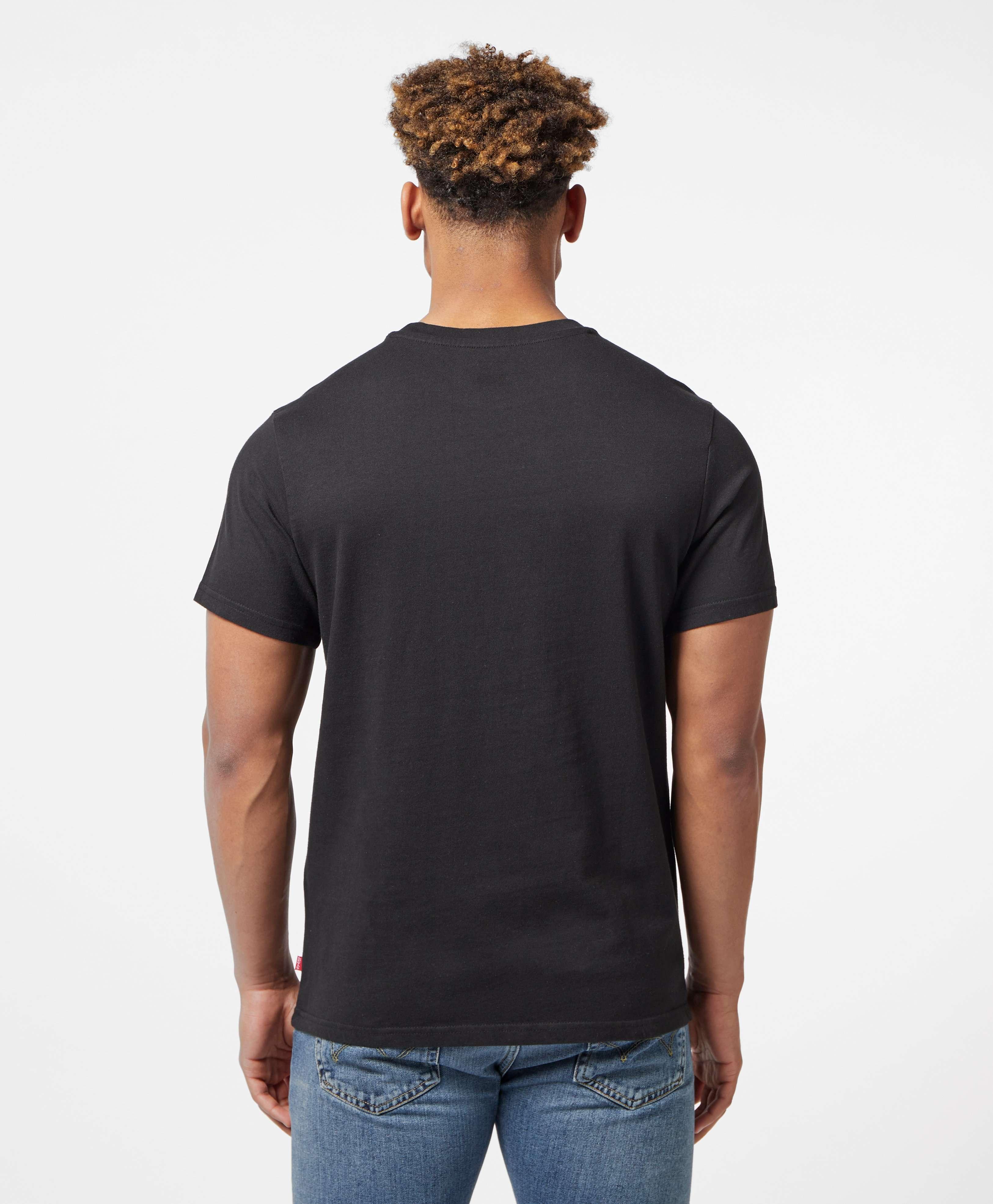 Levis Oversize Bar Logo Short Sleeve T-Shirt