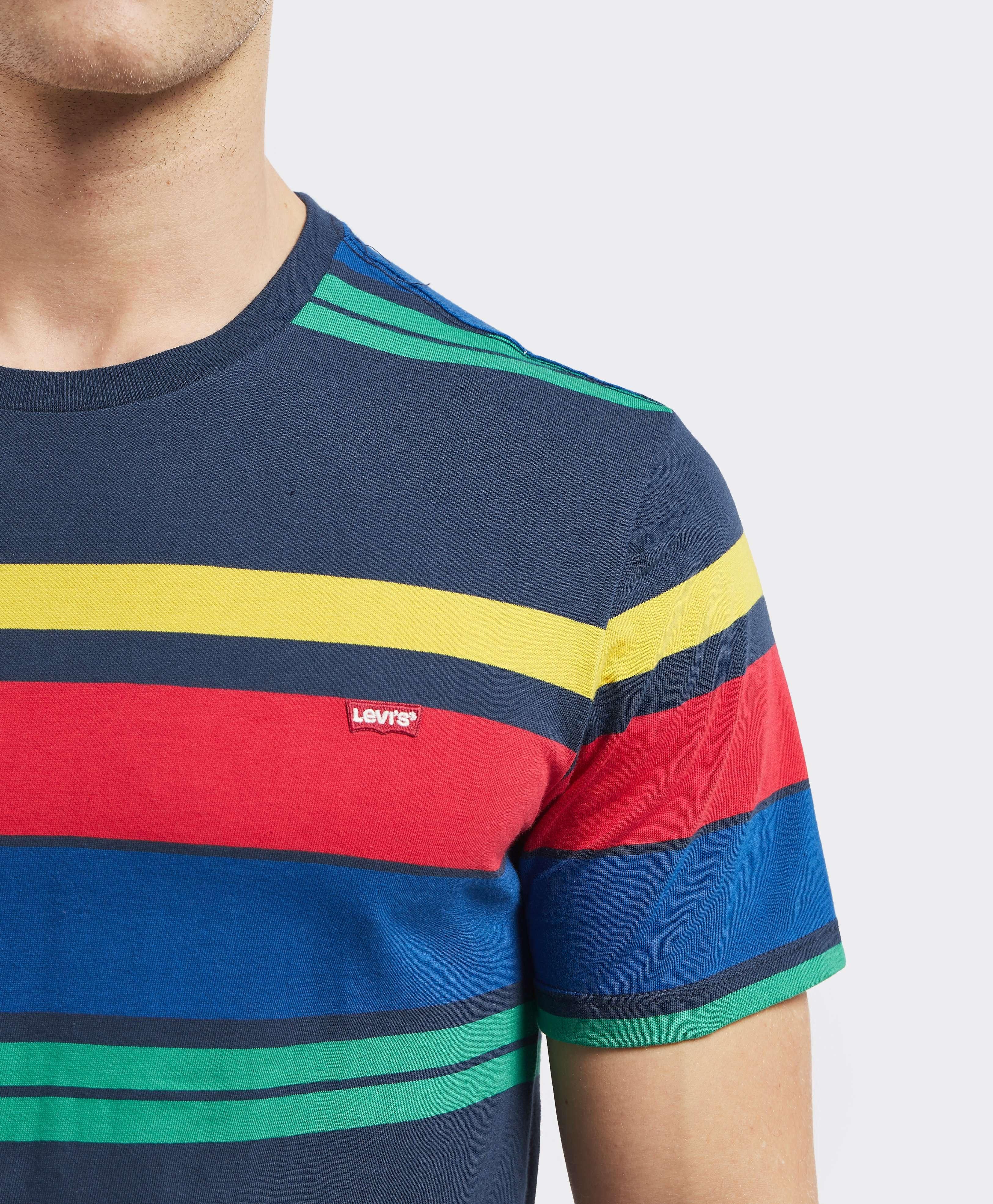 Levis Original Short Sleeve Stripe T-Shirt - Exclusive