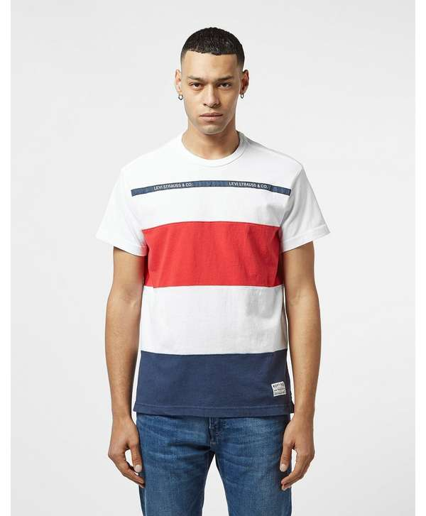 Levis Mighty Taped Short Sleeve T-Shirt