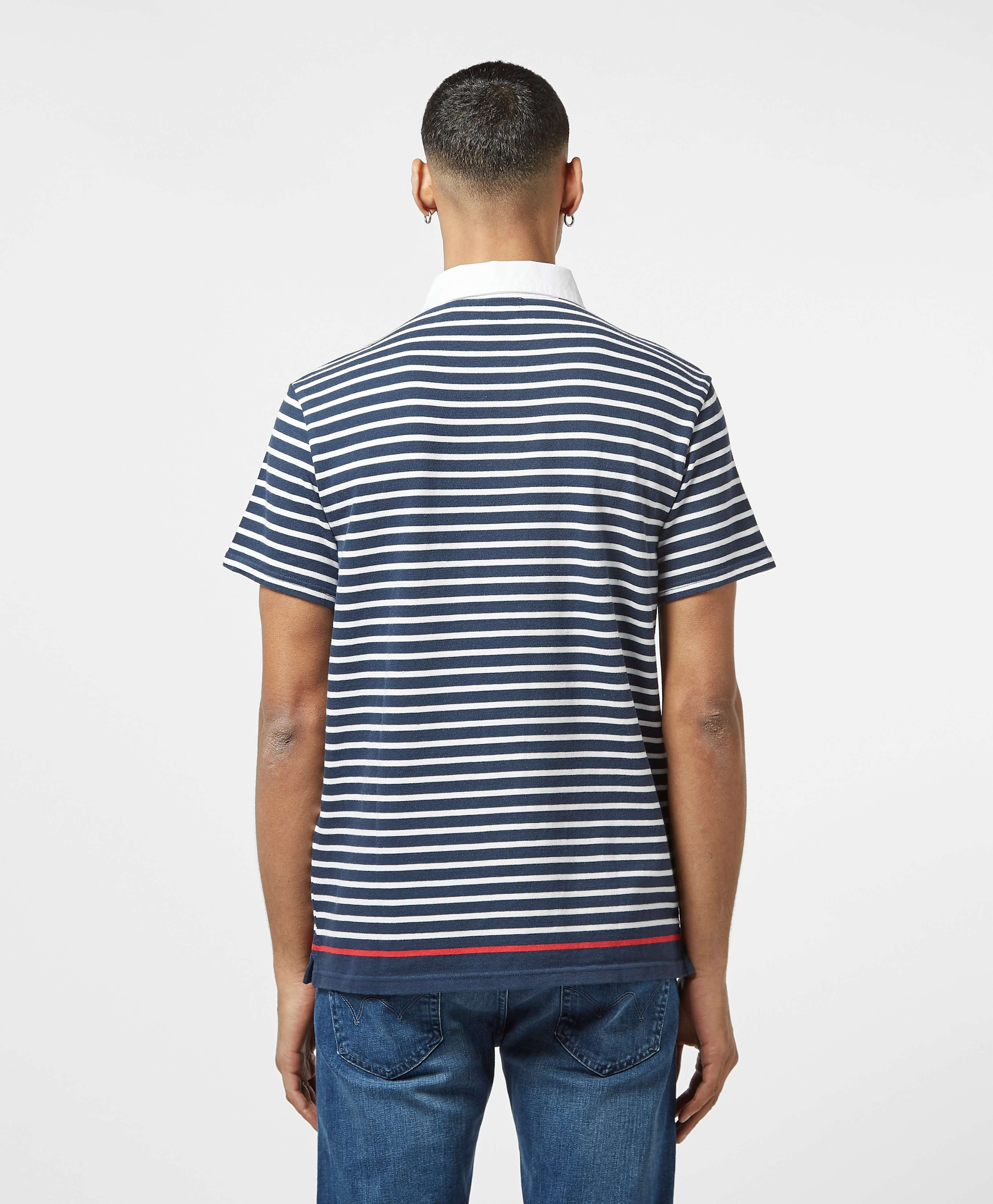 Levis Stripe Short Sleeve Rugby Polo Shirt - Exclusive