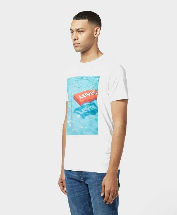 Levis Pool Logo Short Sleeve T-Shirt - Online Exclusive