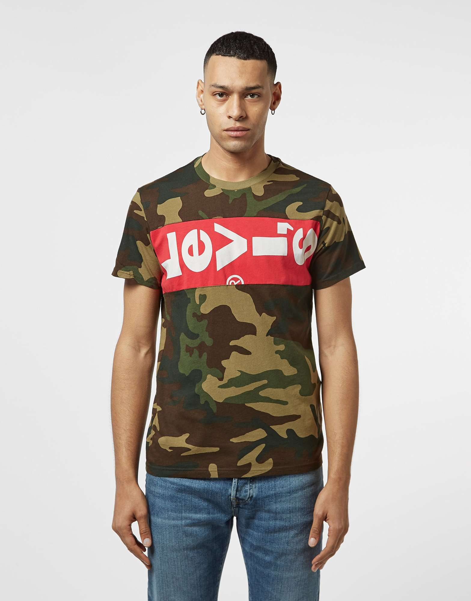 Levis Long Tab Short Sleeve T-Shirt - Online Exclusive
