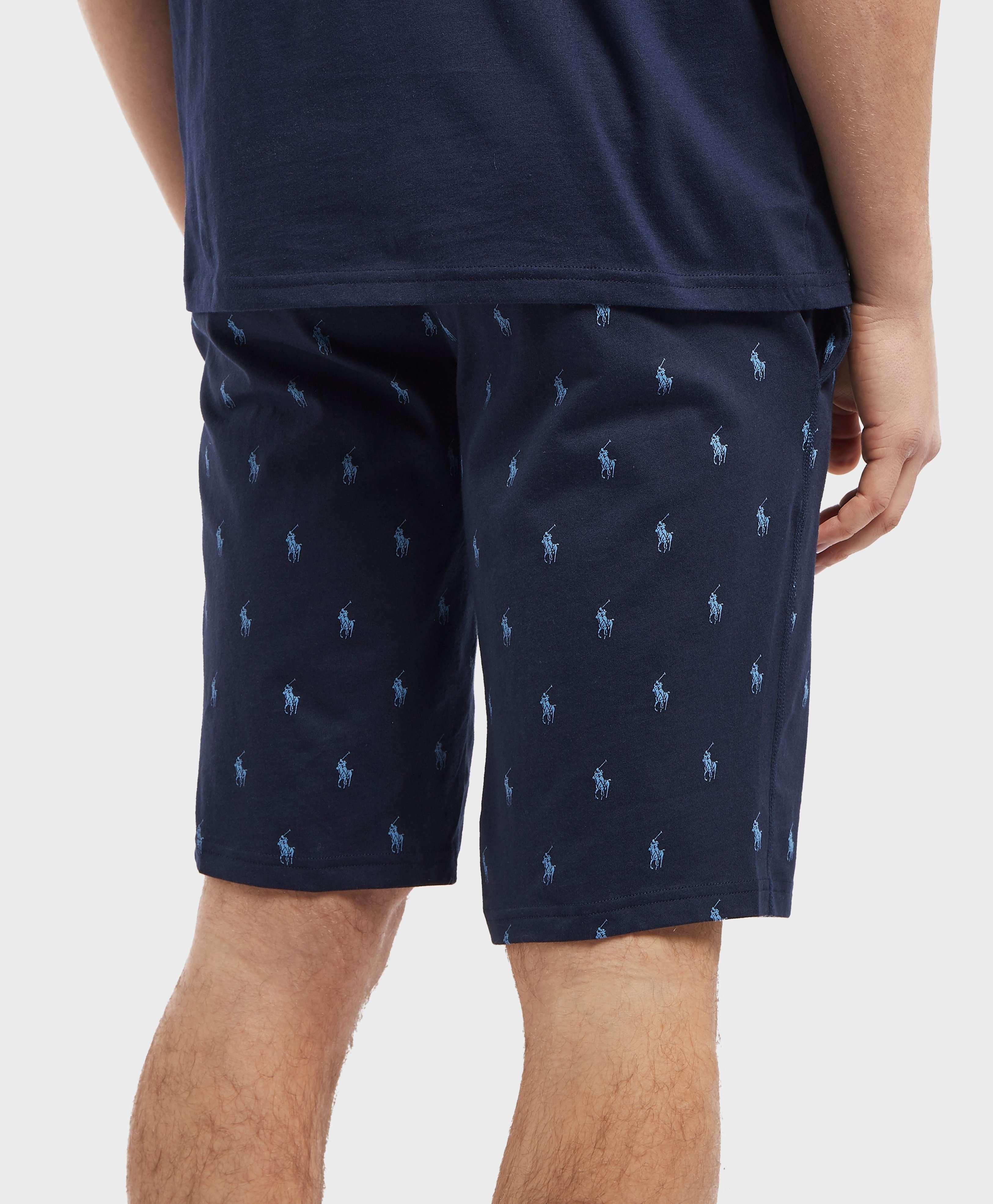 Polo Ralph Lauren Underwear Print Fleece Shorts - Online Exclusives