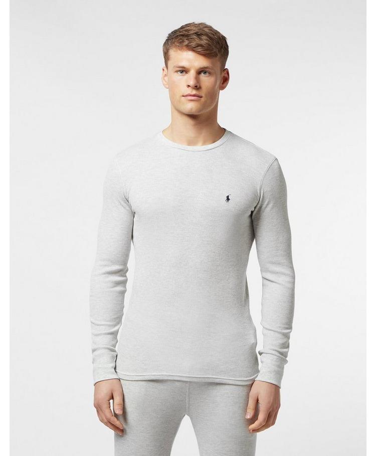Polo Ralph Lauren Underwear Long Sleeve Waffle T-Shirt