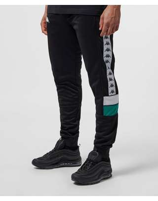 Kappa Mems Slim Cuffed Track Pants | scotts Menswear