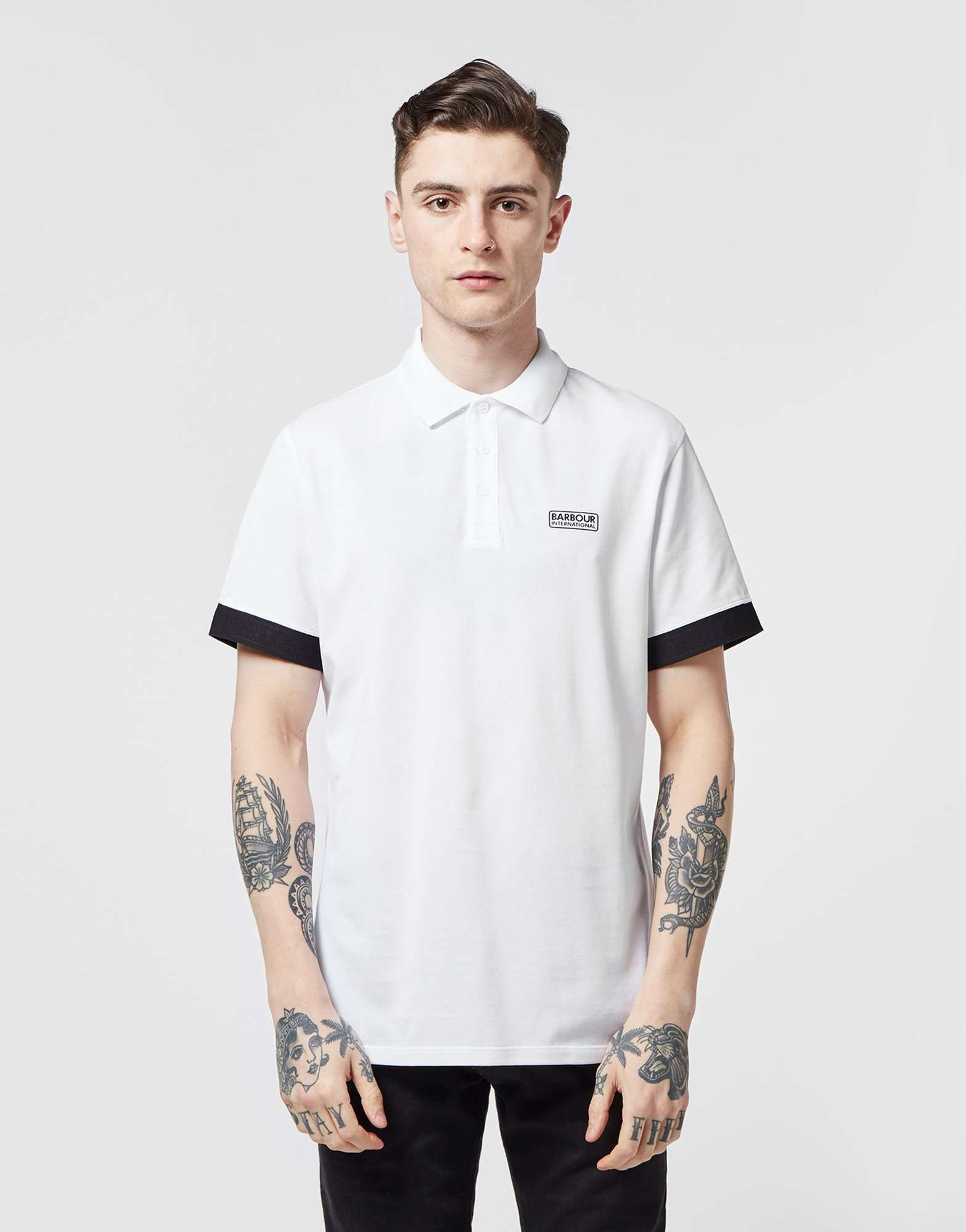 Barbour International Rake Tech Short Sleeve Polo Shirt