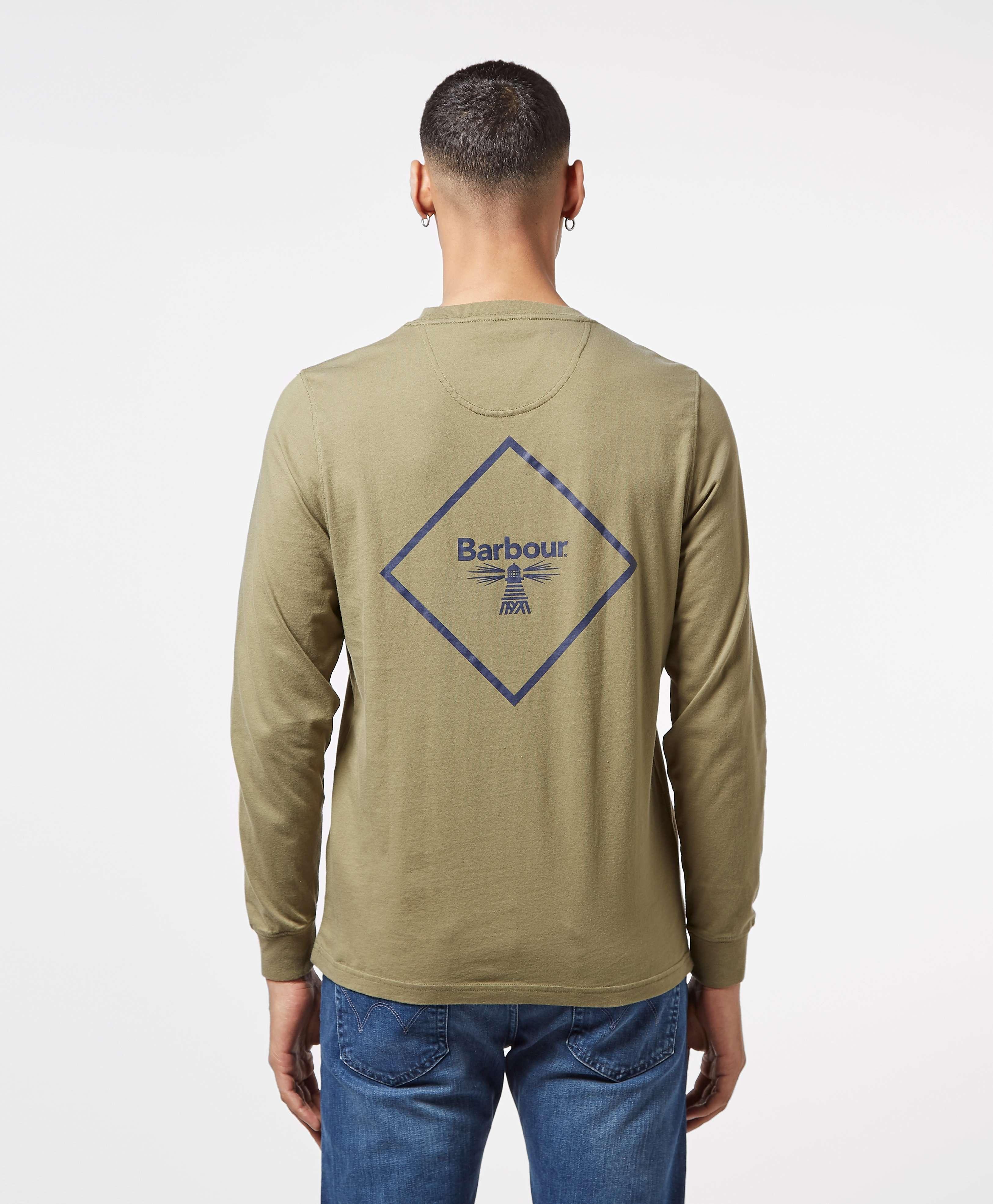 Barbour Beacon Long Sleeve Back Print T-Shirt