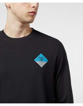 Barbour Beacon Long Sleeve Back Print T-Shirt
