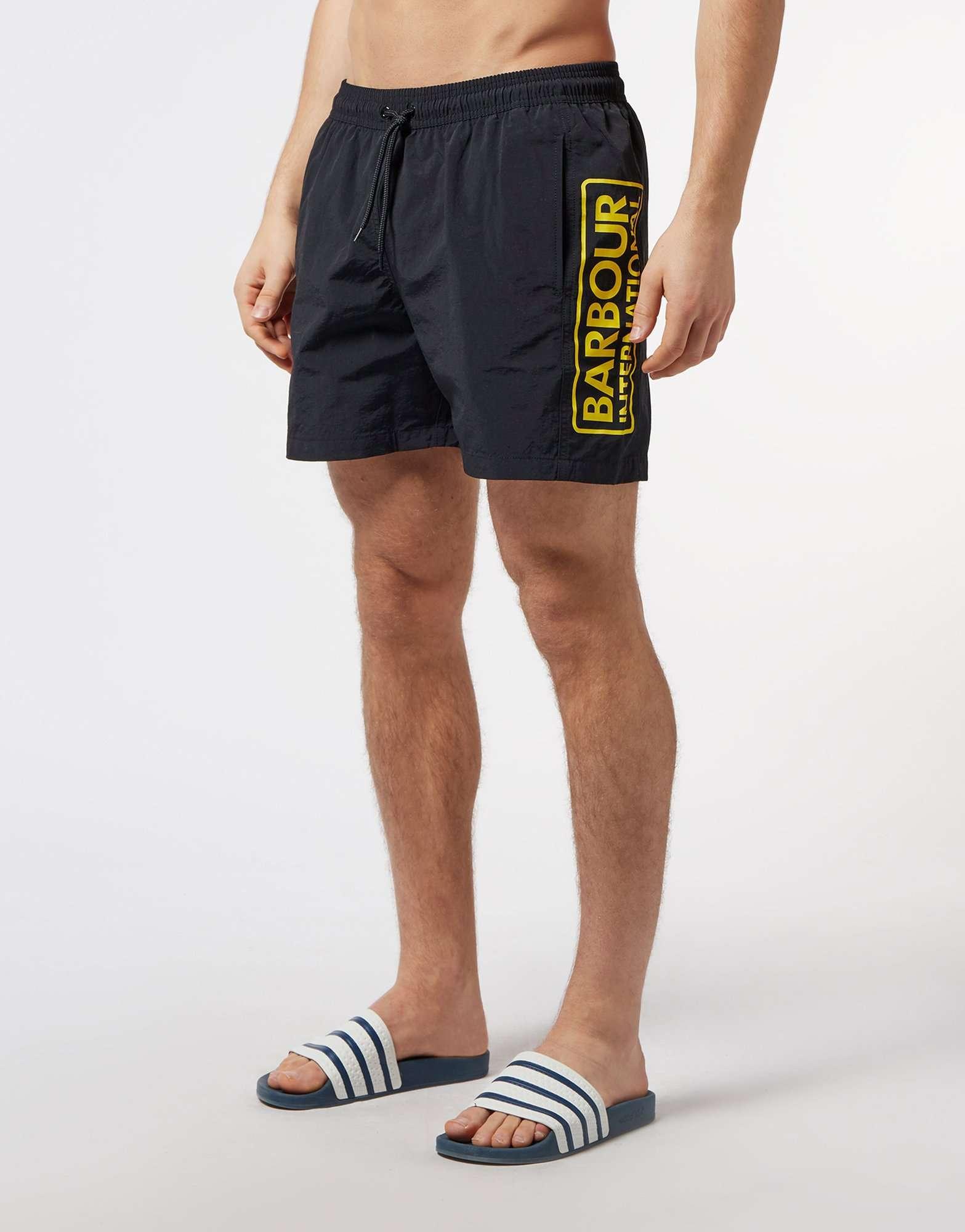 Barbour International Logo Swim Shorts