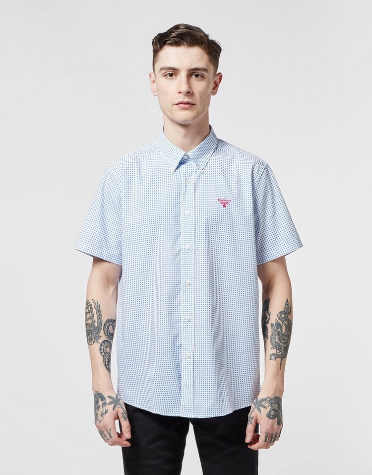 Barbour Beacon Bridge Dot Short Sleeve Shirt