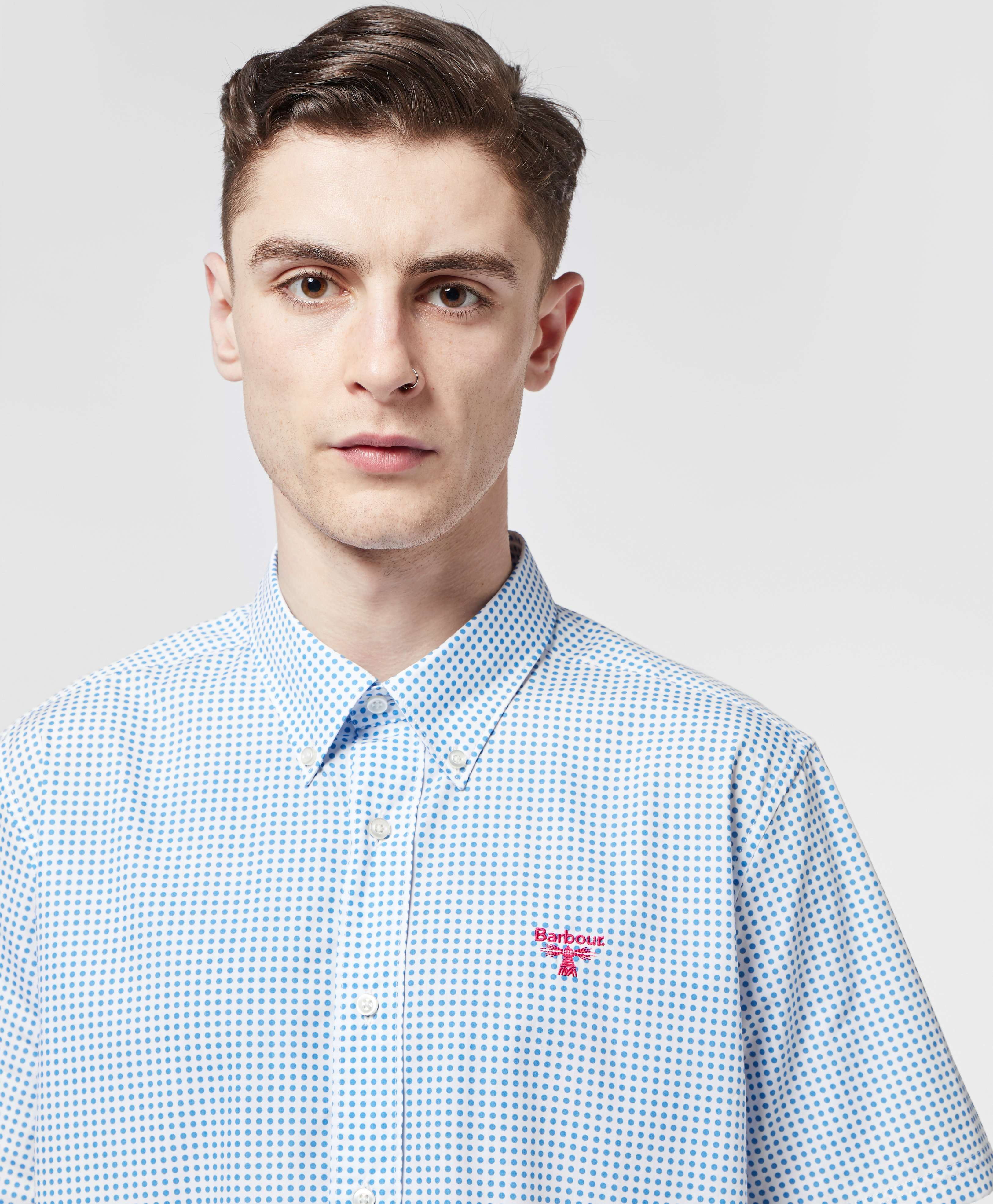 Barbour Beacon Bridge Dot Short Sleeve Shirt