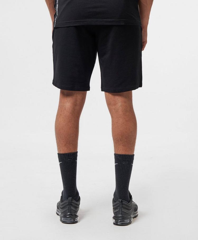 Emporio Armani Loungewear Bold Eagle Fleece Shorts