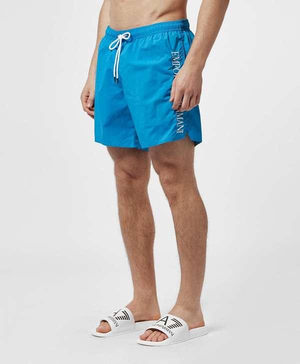 Emporio Armani Logo Swim Shorts