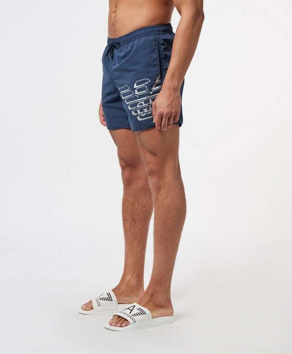 Emporio Armani Large Eagle Swim Shorts