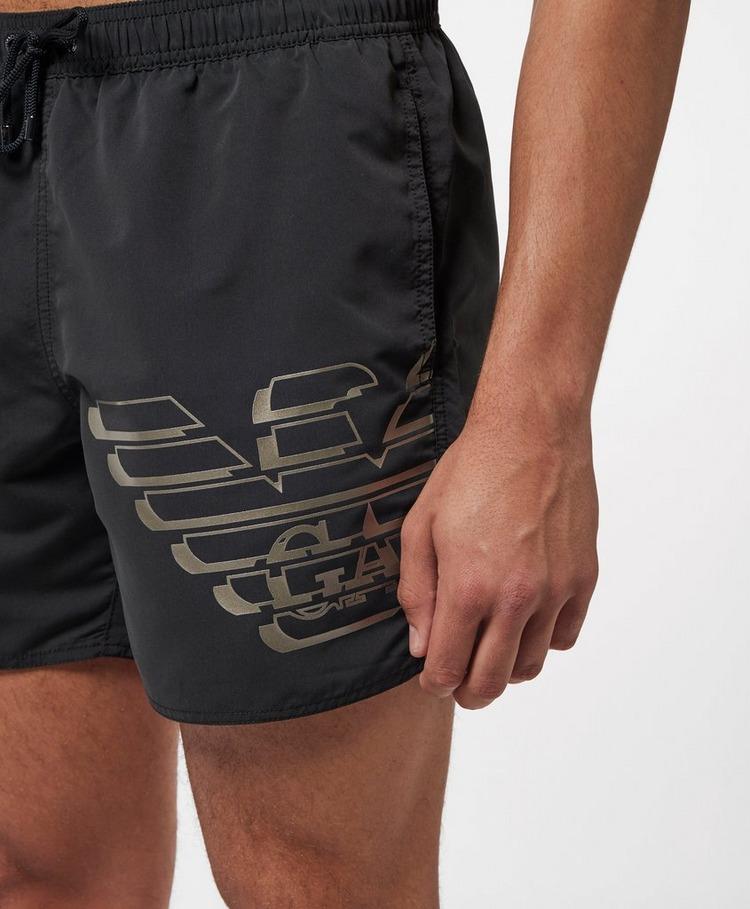 Emporio Armani Loungewear Large Eagle Swim Shorts