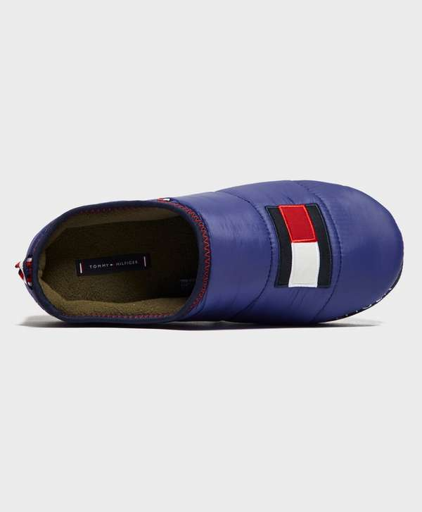 Tommy Hilfiger Flag Padded Slippers - Online Exclusive