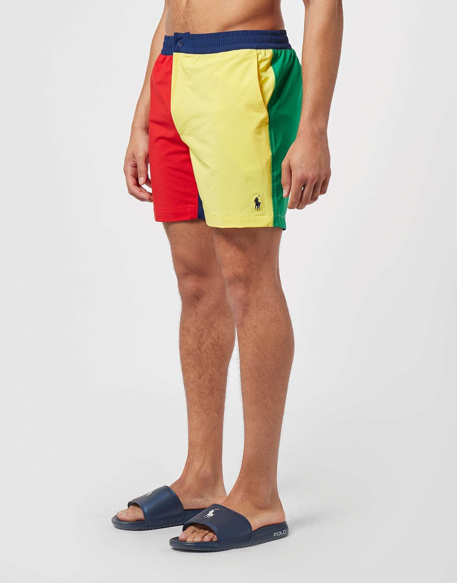 Polo ShortsScotts Ralph Menswear Block Swim Lauren kPZliOTwXu