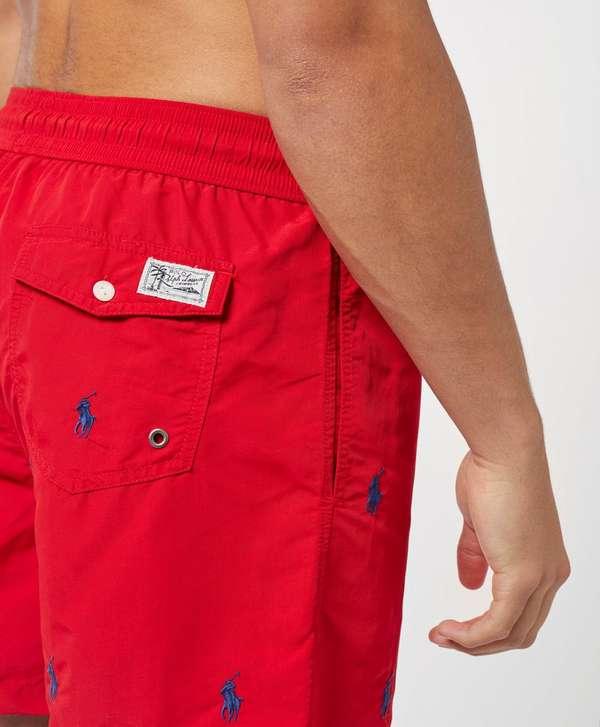 0202c583ae Polo Ralph Lauren All Over Print Swim Shorts | scotts Menswear