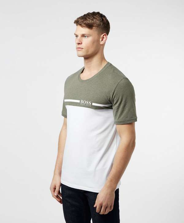 BOSS Colour Block Short Sleeve T-Shirt