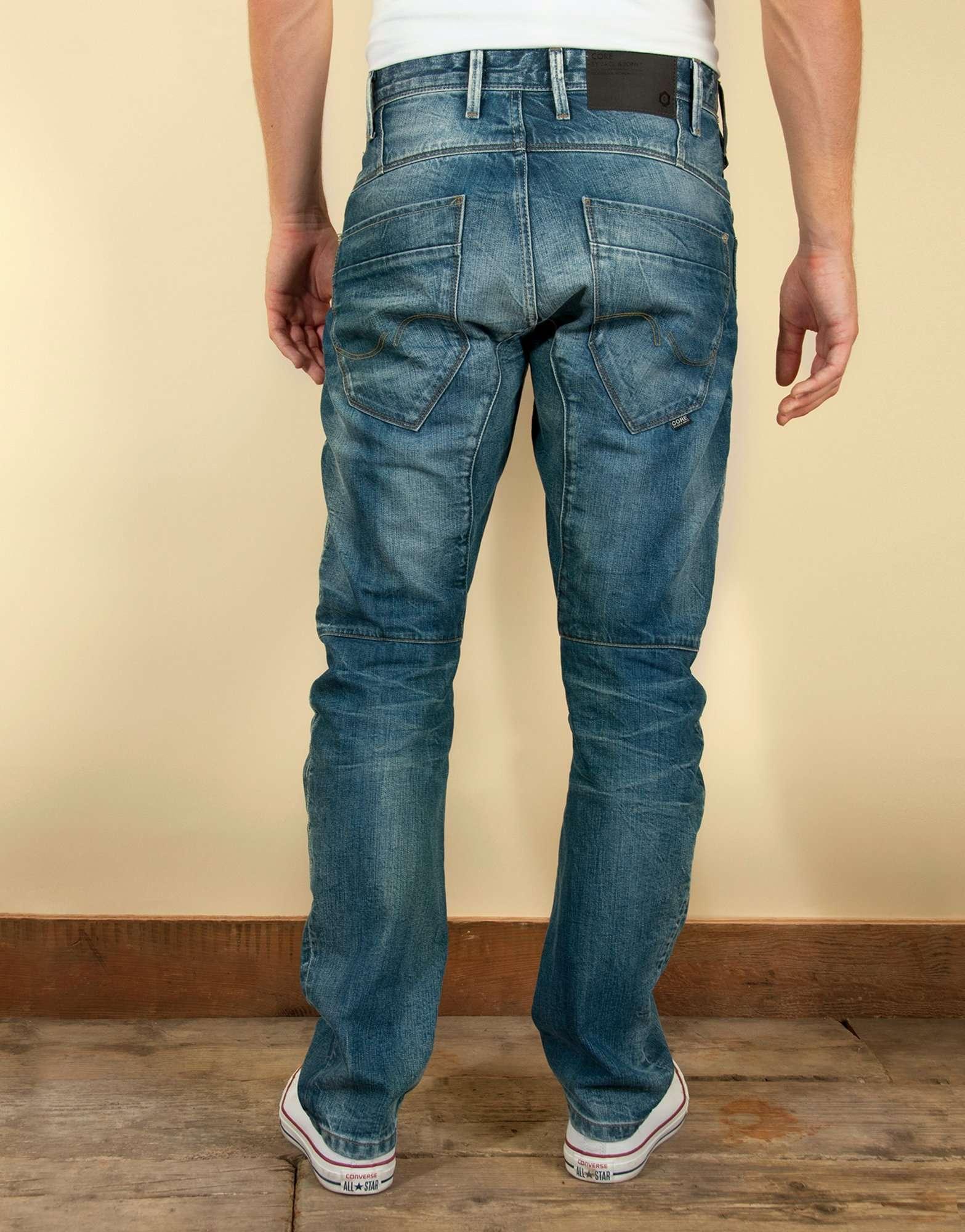 newest 0364a f854f Jack & Jones Core Stan Osaka Anti Fit Jeans   scotts Menswear