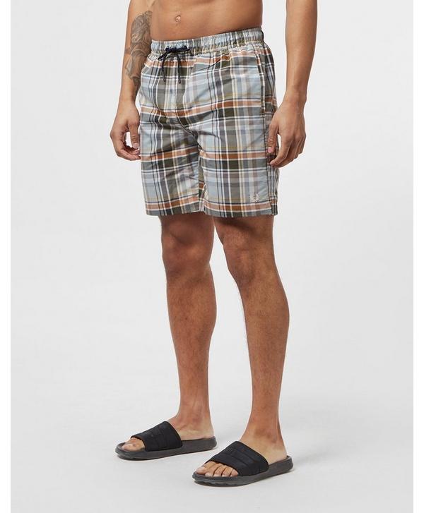 c20d4c5da7 Fred Perry Madras Swim Shorts | scotts Menswear