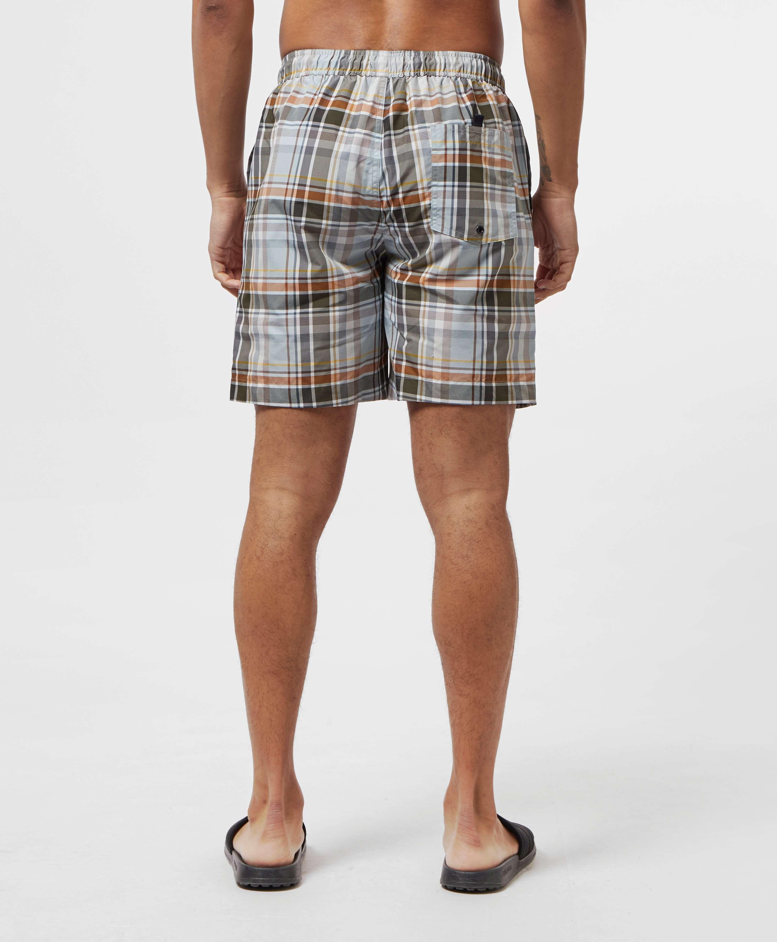 Fred Perry Madras Swim Shorts
