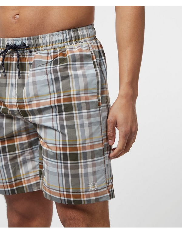 Fred Perry Madras Swim Shorts