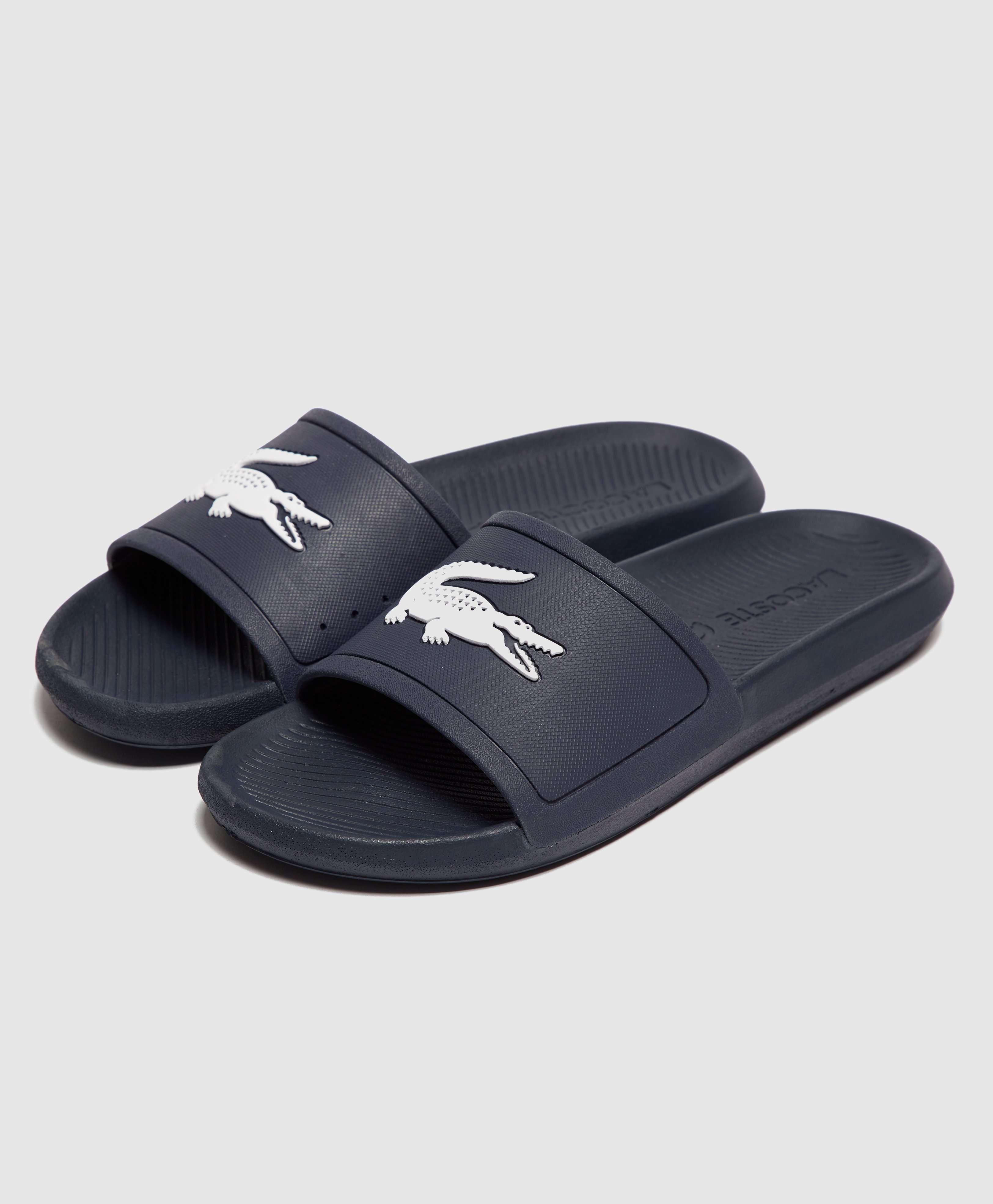 Lacoste Croco Slides
