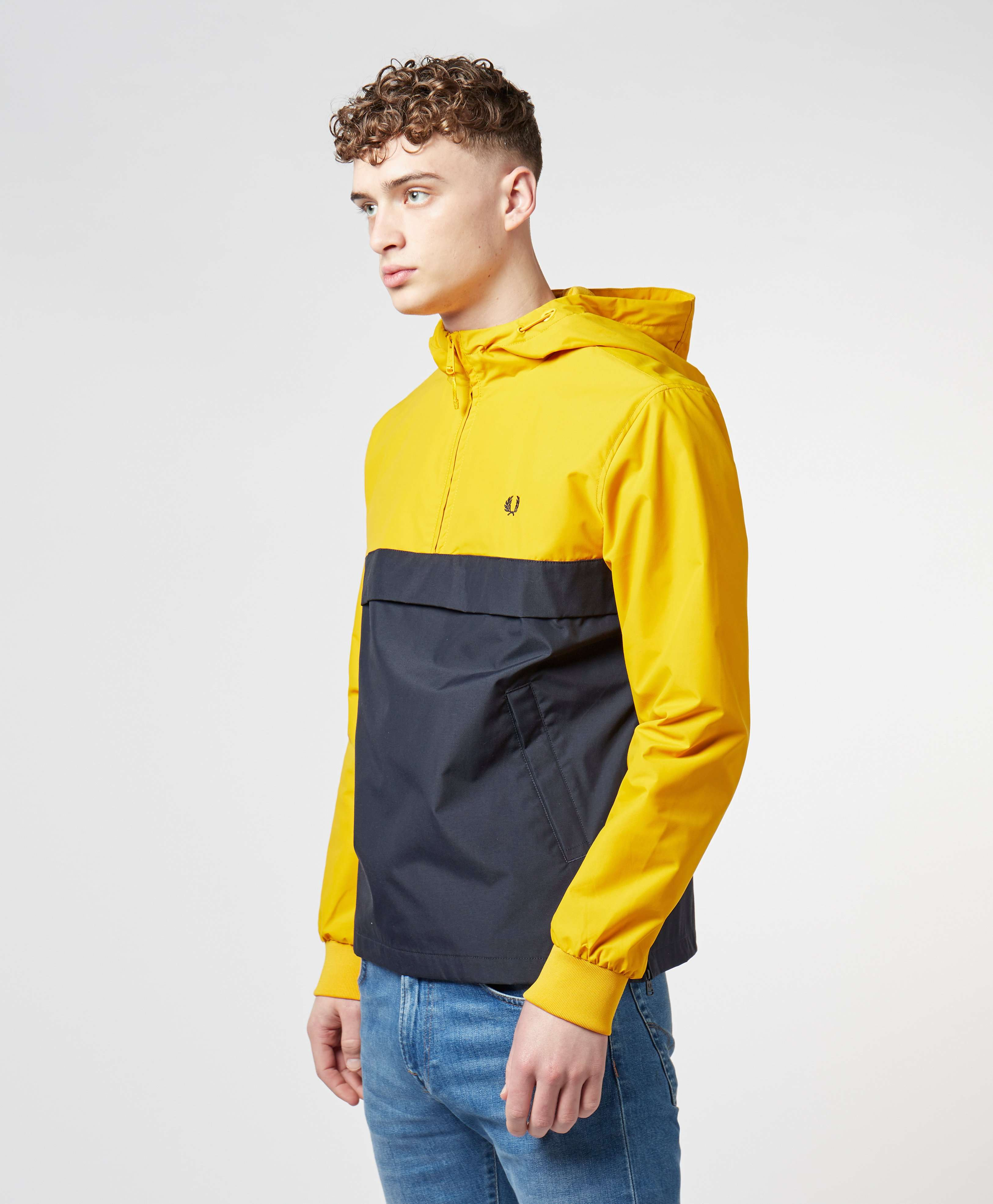 Fred Perry Half Zip Panelled Jacket