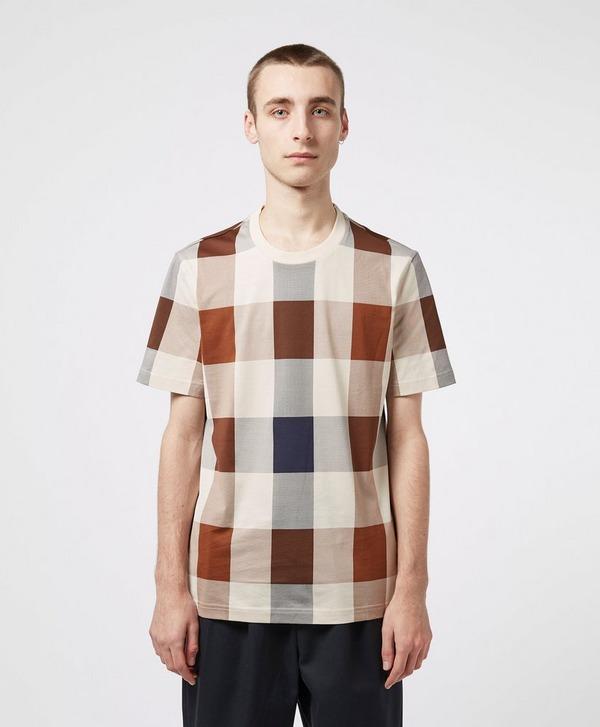 Aquascutum Kenneth Large Check Short Sleeve T-Shirt