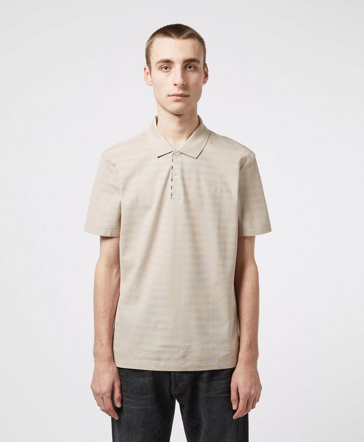 Aquascutum Lamar Stripe Short Sleeve Polo Shirt