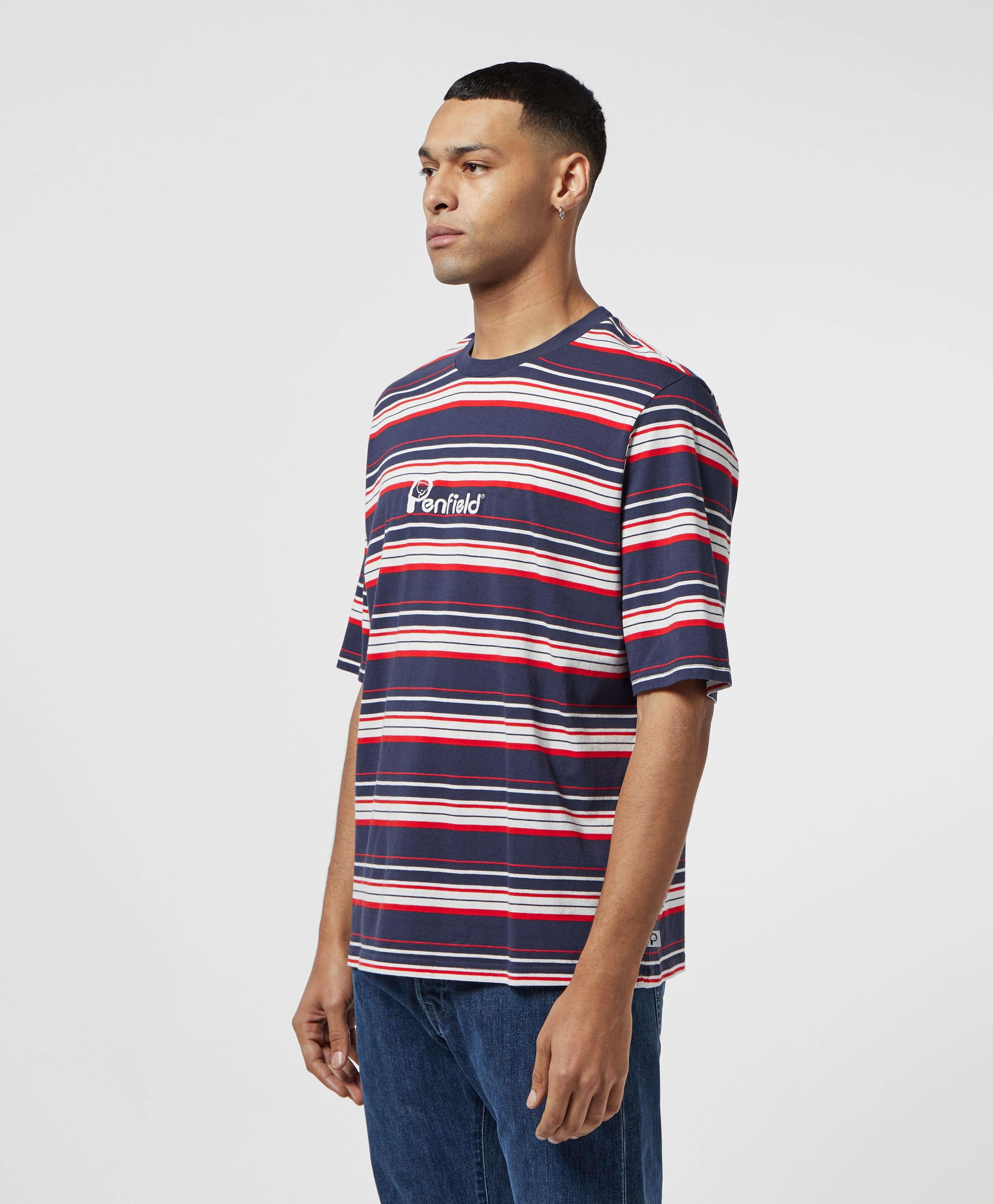 Penfield Guano Stripe Short Sleeve T-Shirt