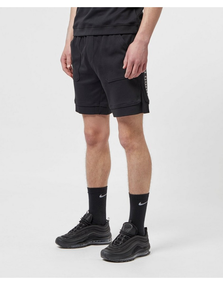 BOSS Interlock Logo Fleece Shorts