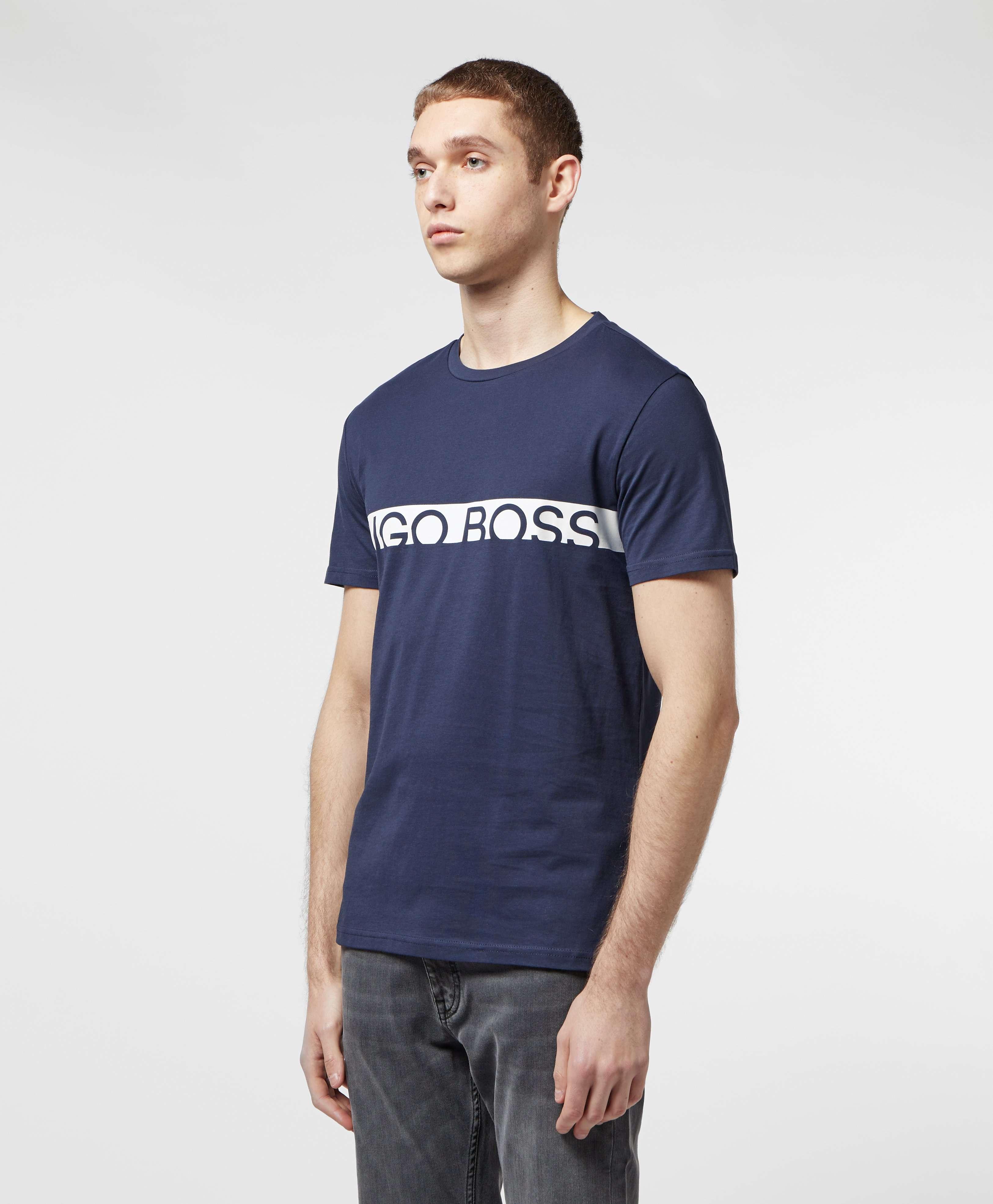 BOSS Band Logo Short Sleeve T-Shirt