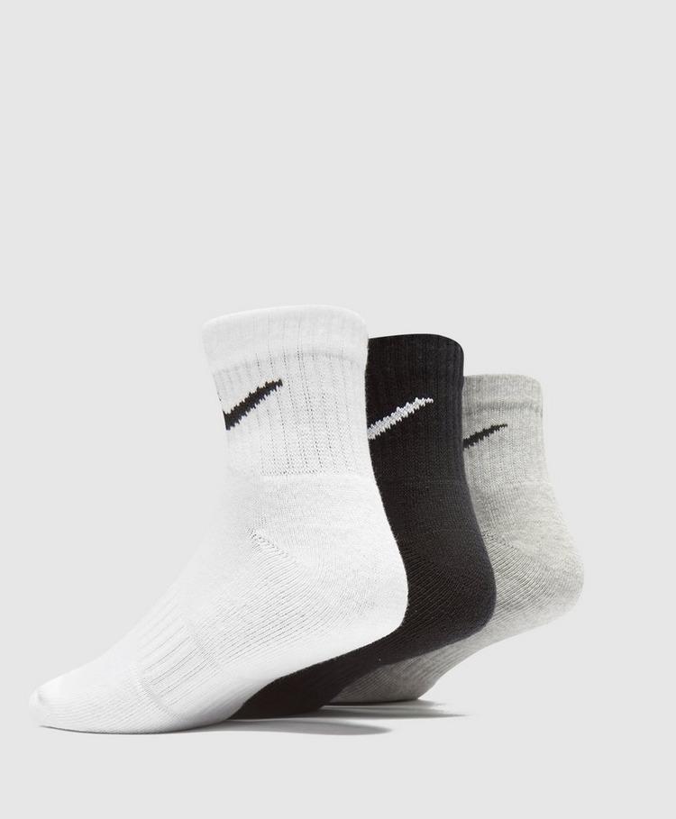 Nike 3-Pack Lightweight Quarter Socks