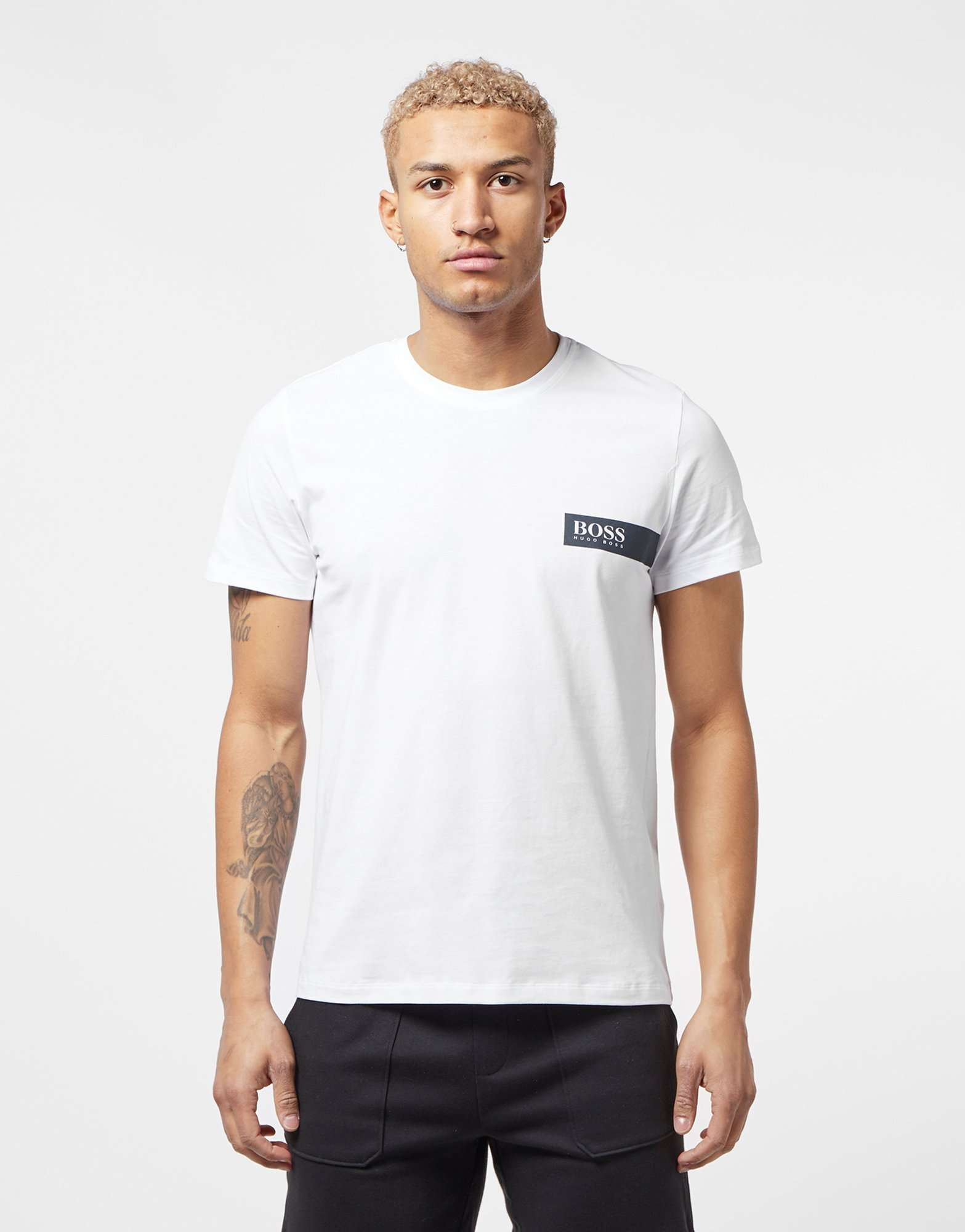 BOSS Chest Block Short Sleeve T-Shirt