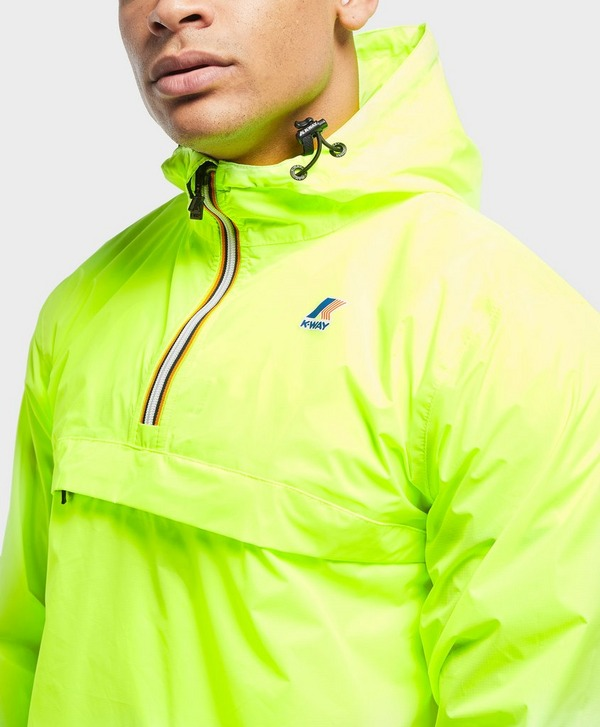 K-Way Leon Half Zip Lightweight Jacket