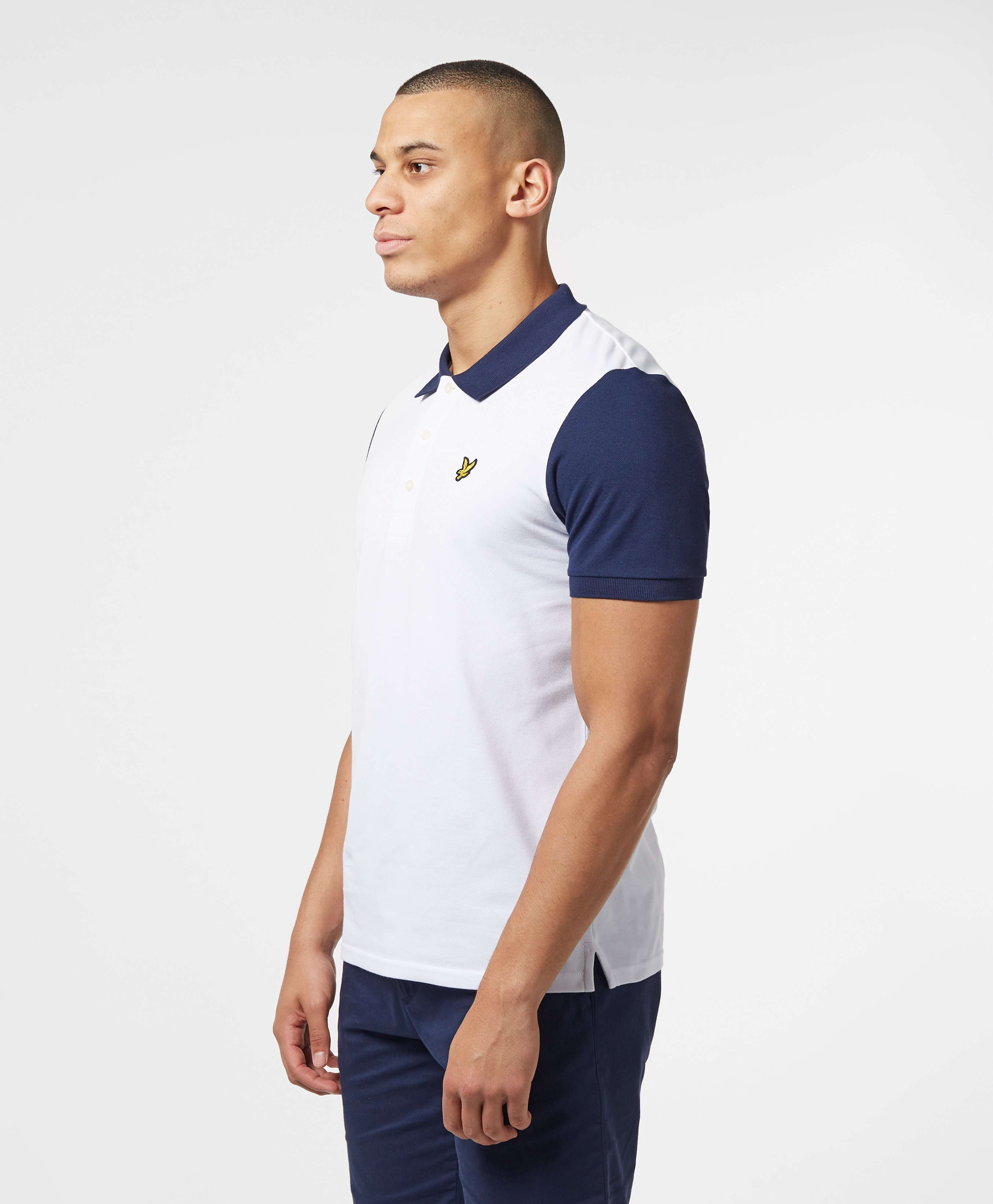Lyle & Scott Short Sleeve Panel Polo Shirt - Online Exclusive