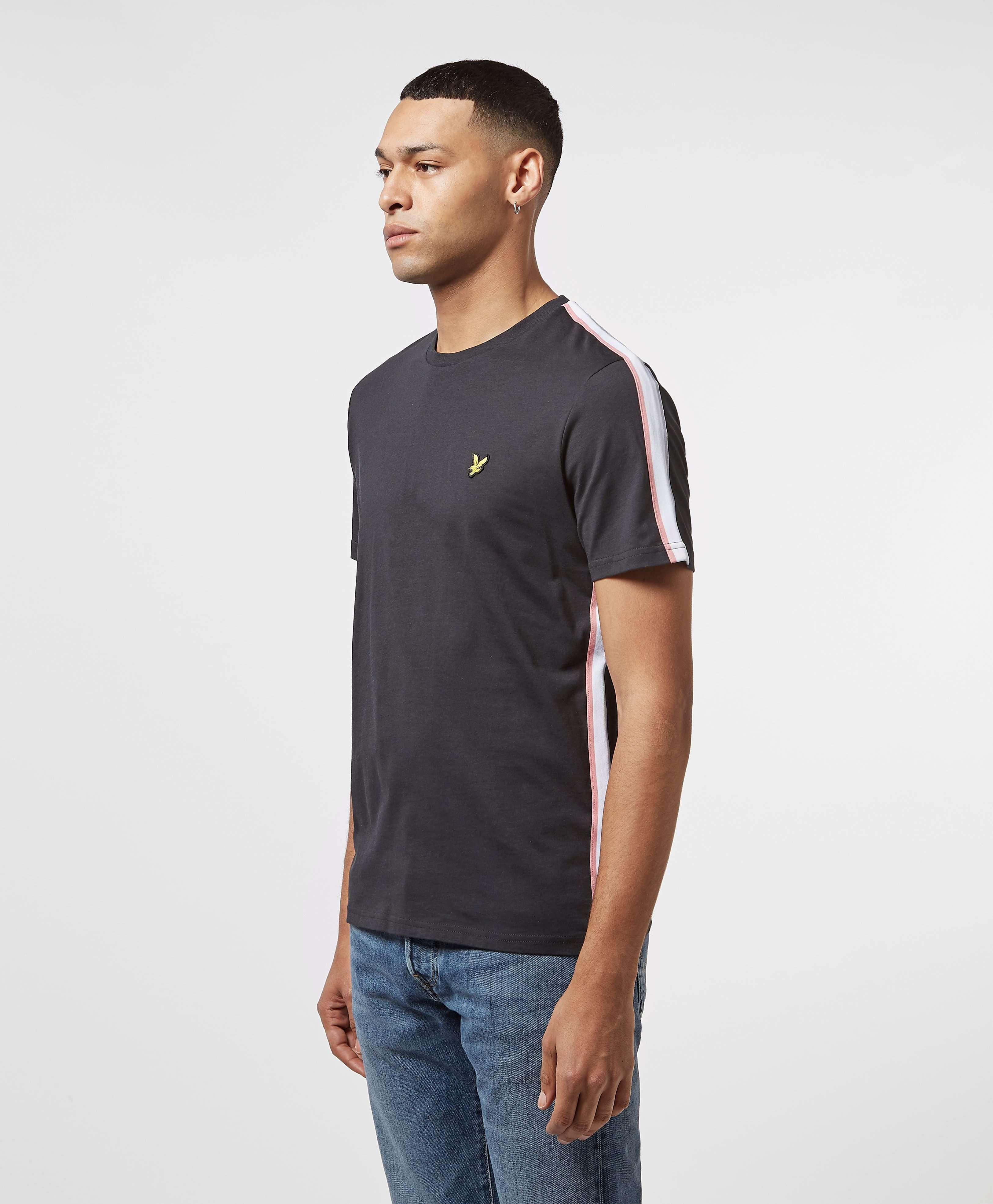 Lyle & Scott Short Sleeve Tape T-Shirt - Online Exclusive