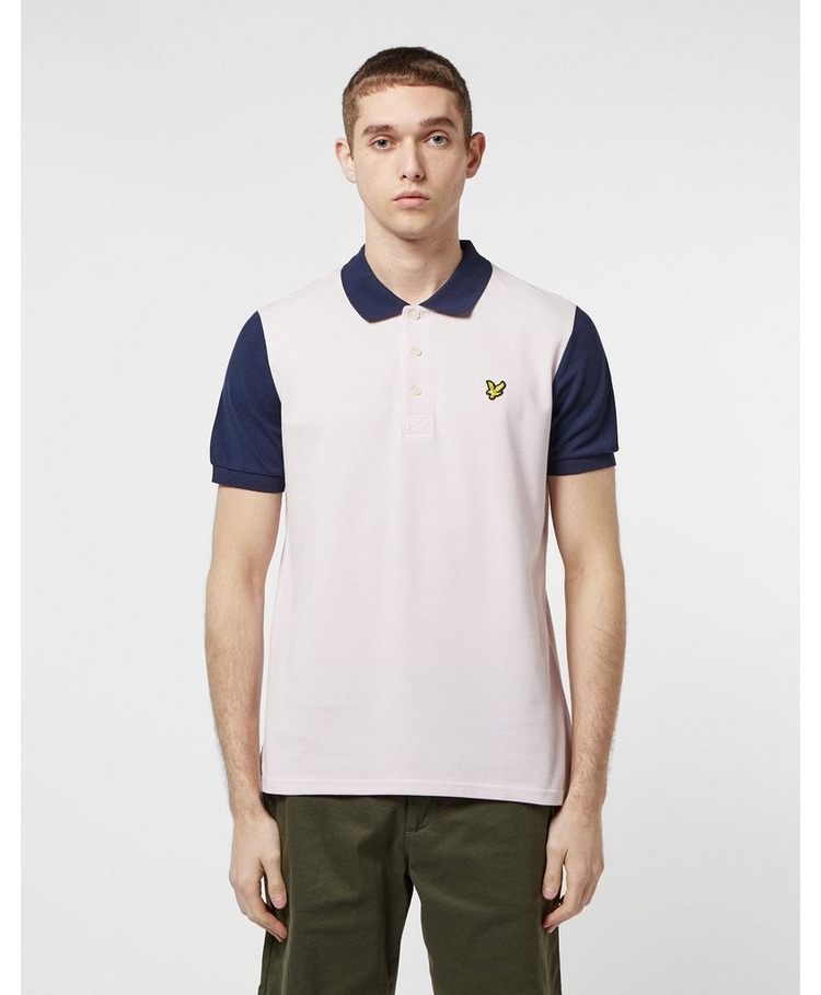 Lyle & Scott Panel Short Sleeve Polo Shirt