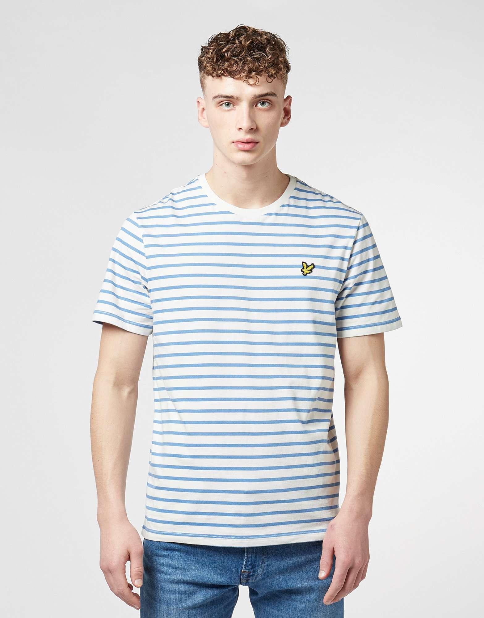 Lyle & Scott Breton Stripe Short Sleeve T-Shirt