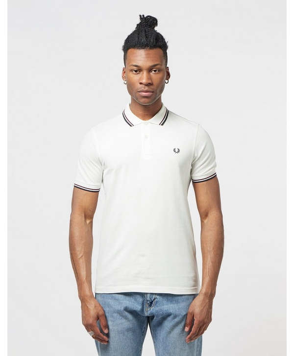 5b57d4dfcf4 Fred Perry Twin Tipped Short Sleeve Polo Shirt