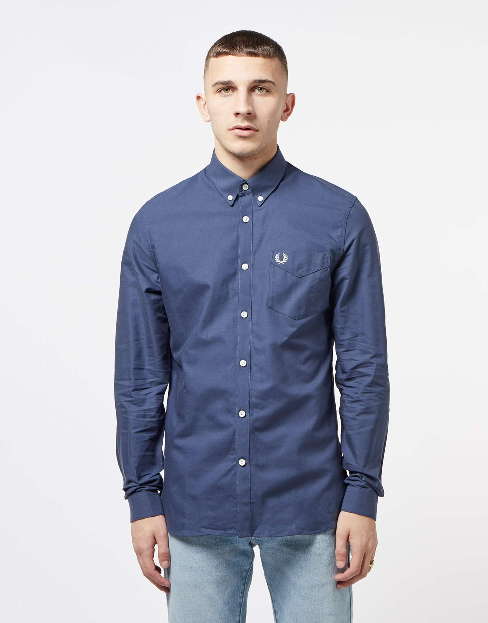 Fred Perry Classic Long Sleeve Shirt
