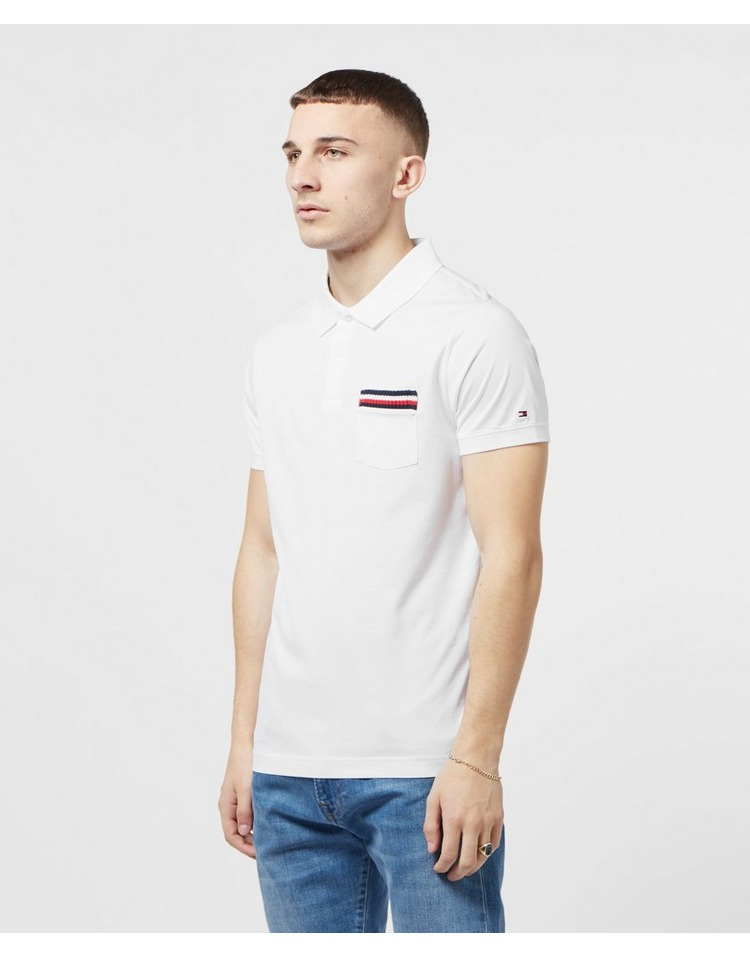 Tommy Hilfiger Tipped Pocket Short Sleeve Polo Shirt