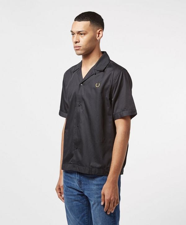 fae8eb176 Fred Perry x Miles Kane Short Sleeve Bowling Shirt