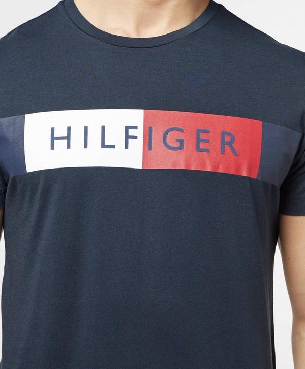e9f833035 Tommy Hilfiger Flag Logo Short Sleeve T-Shirt   scotts Menswear