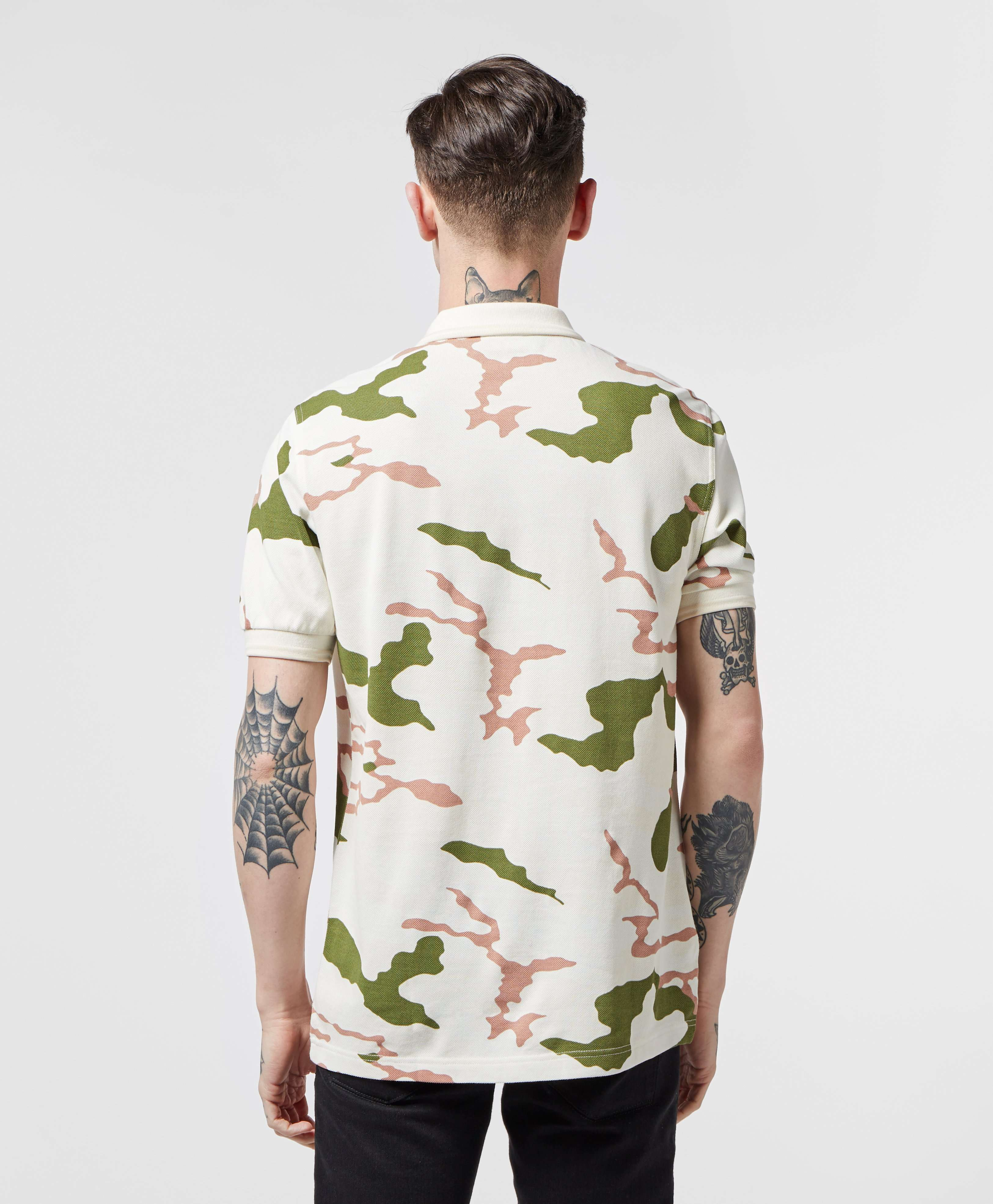 Fred Perry Short Sleeve Camo Polo Shirt - Online Exclusive