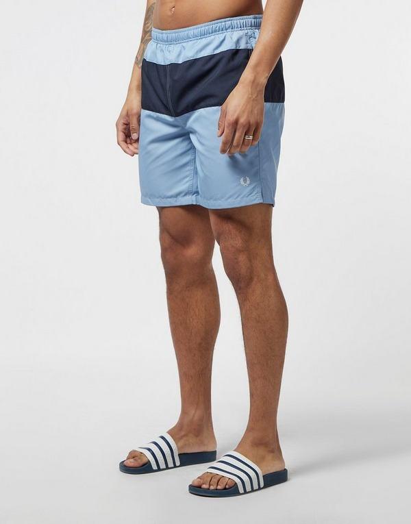 Fred Perry Colour Block Swim Shorts