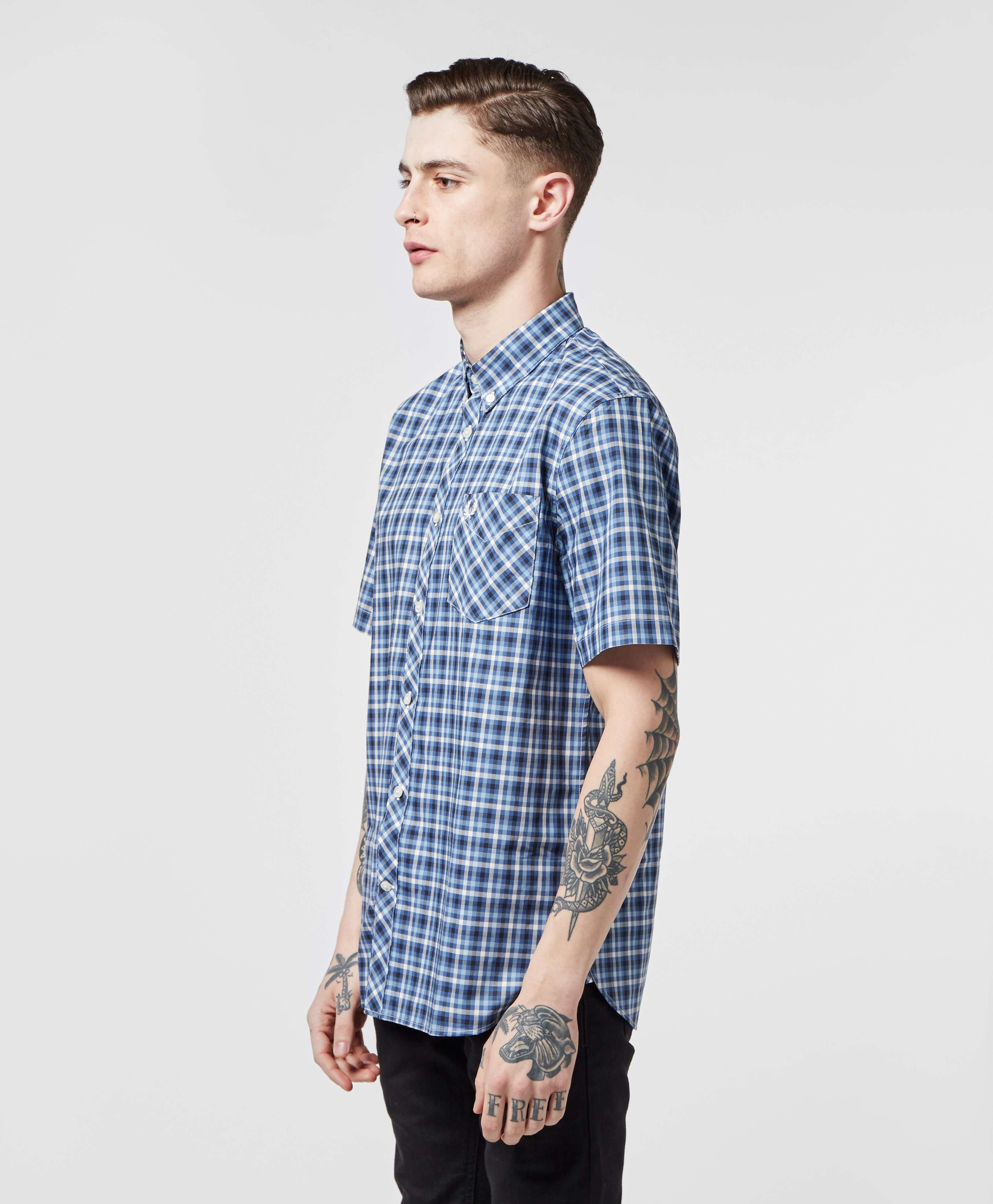 Fred Perry Gingham Short Sleeve Shirt